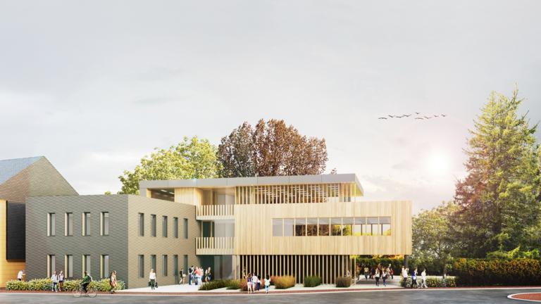 Verwaltungsgebäude Bewerbung